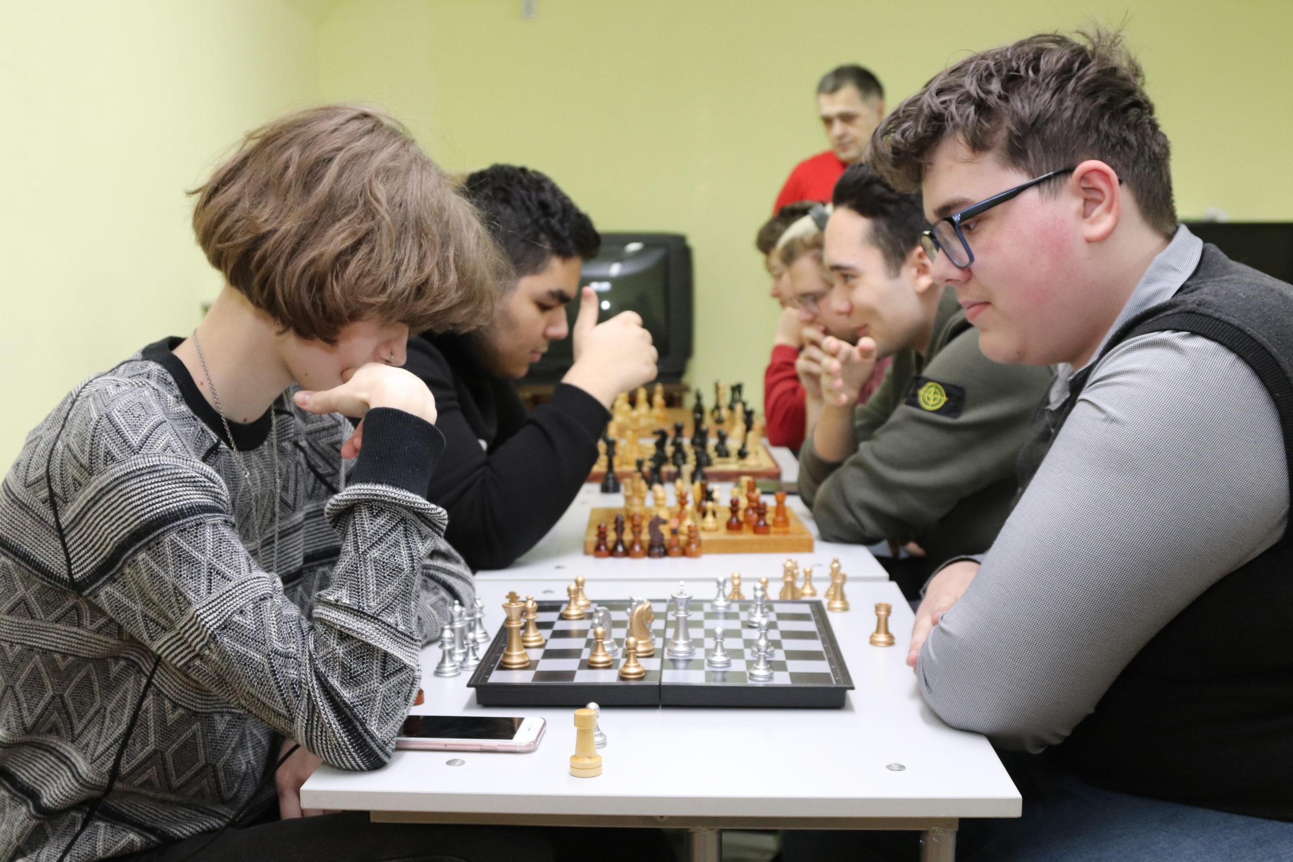Шахматный турнир в школе