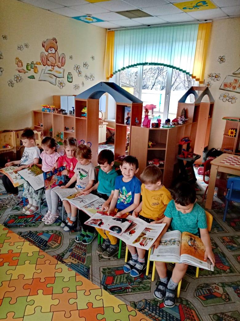 «Книжкина неделя» в детском саду