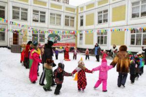 «Зима-волшебная пора!» Развлечение «Зимние забавы» в детском саду