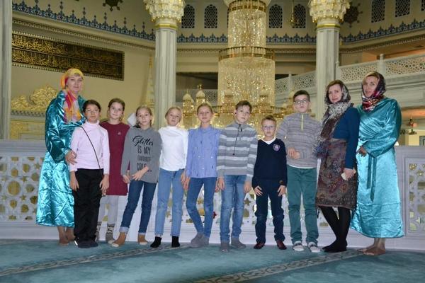 Экскурсия в мечеть