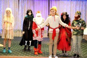 Новогодний праздник (6-7 класс)